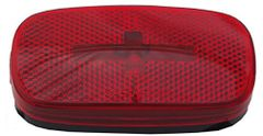 Incandescent Marker Light, Red, L04-0059R-BLK