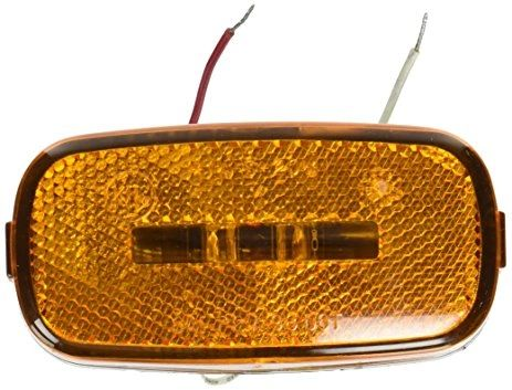 LED Marker Light, Amber 2 Diode, L14-0104A-BLK