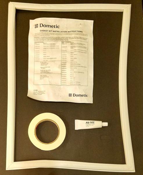 Dometic Refrigerator Door Gasket Kit, Upper, 3108708.201