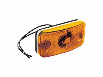 Fleetwood RV Amber Clearance Light E397