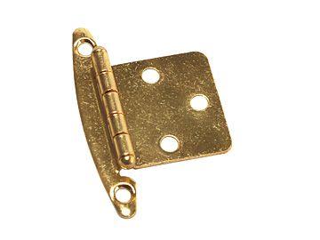 RV Designer Free-Swinging Hinges, Brass, 2 Pack, H239
