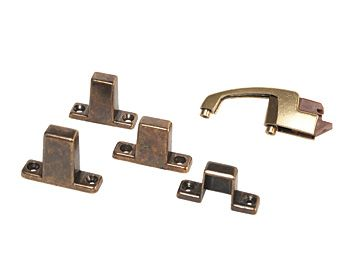 RV Designer Positive Latch With Antique Finish, H243