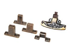 RV Designer Positive Door Latch, Multi-Fit, H245