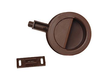 RV Designer Shurlatch For RV Cabinet Doors, Brown, H261