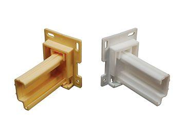 "RV Designer Drawer Slide Sockets - 2-1/2"", H307"