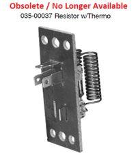 Dash Blower Motor Resistor 035-00037