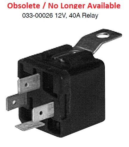 Dash Heater Relay 033-00026
