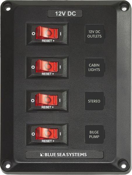 4 Position Circuit Breaker Panel 4350