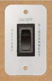 KIB Electronics Battery Disconnect Panel BD103W