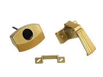 RV Designer Brass Door Latch H521