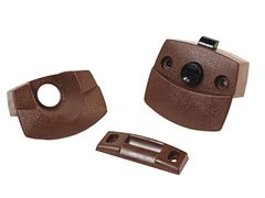 RV Designer Privacy Latch For Interior RV Doors, Brown, H531