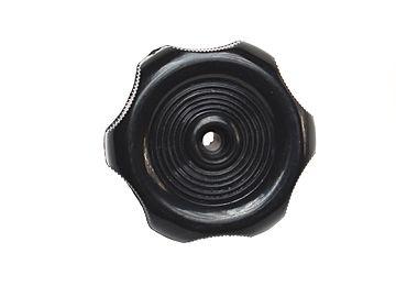 "RV Designer RV Universal Window Knob 1/2"" Shaft, Black, H711"