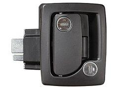 RV Designer Black RV Entry Door Handle T505