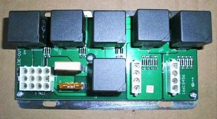 KIB Electronics Slide Room Controller, Quad Slide, 16619456