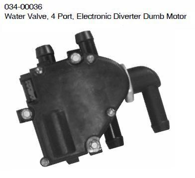 Dash Heater Electric Coolant Valve 034-00036