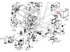 Suburban Water Heater Flue Assembly, 101594