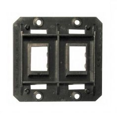 Black Double Contoured Switch Assembly Base AH-FLR-2-5