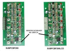 KIB Electronics Replacement Board Assembly, F200 Series, SUBPCBF200LCD