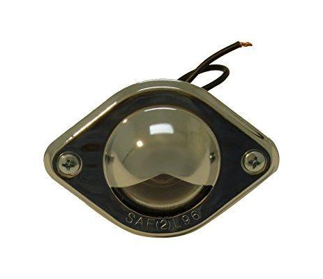 RV Chrome Courtesy Light 1P-C1053