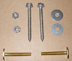 SeaLand Toilet Mounting Hardware Kit 385311117