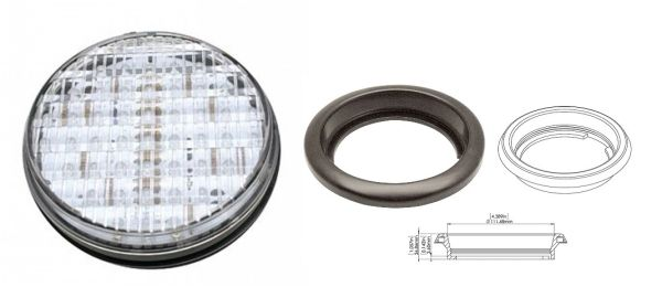 45 LED Backup Light Assembly L16-0026
