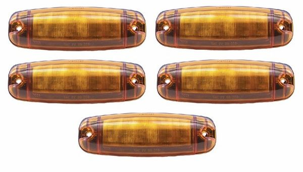 Amber 12 Diode LED Marker Light Kit L14-0026A-KIT