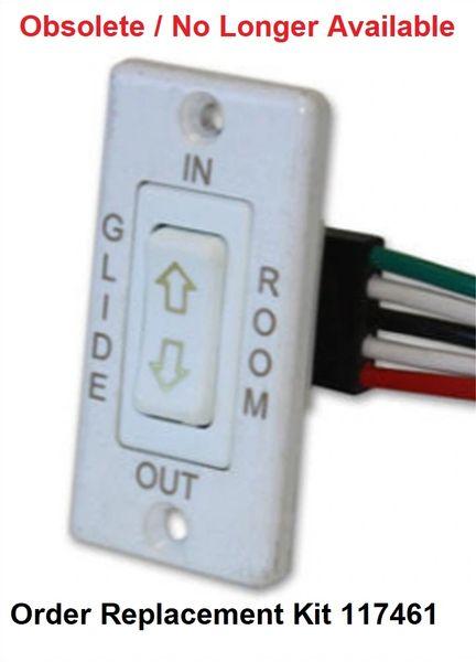 Lippert Slide Out White Switch Kit 173628