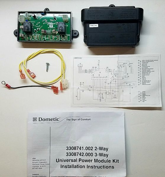 Dometic Refrigerator Control Board Kit, 2 Way, 3308741 002