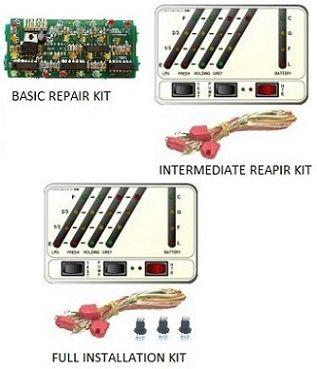 KIB Electronics Monitor Panel Model K24-3W Repair / Installation Kits