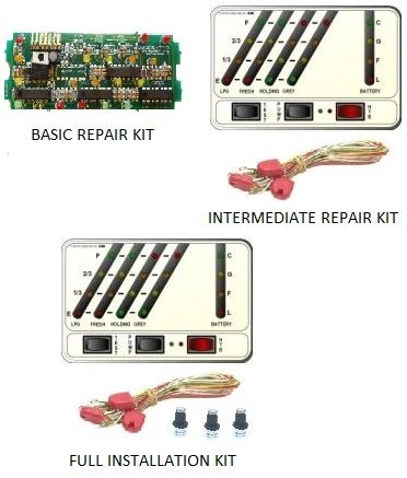 KIB Electronics Monitor Panel Model K24-MWL Repair / Installation Kits