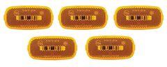 Amber 2 Diode LED Marker Light Kit