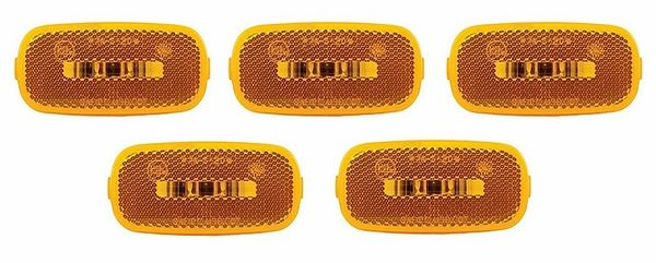 Amber 2 Diode LED Marker Light Kit