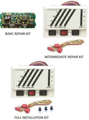 KIB Electronics Monitor Panel Model K24WNB Repair / Installation Kits