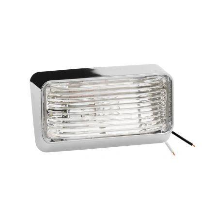 RV Chrome Porch Light 3078600