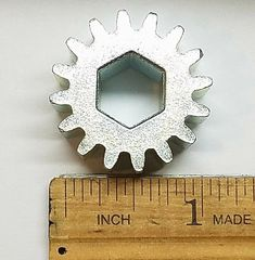 16 Tooth Slide Out Hexagon Spur Gear 285085