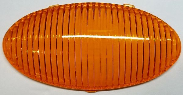 Porch Light Replacement Oval Amber Lens 1P-P40-A