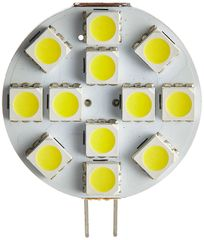 G4 Base 12 LED Bulb, L Pin, 150 Lumens, Warm White, 15001V