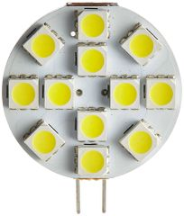 G4 Base 12 LED Bulb, L Pin, 150 Lumens, Natural White, 15002V