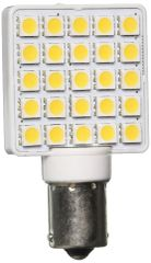 1156 / 1141 LED Bulb, 25 LED's, 270 Lumens, Natural White, 25007V