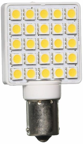 1156 / 1141 LED Bulb, 25 LED's, 270 Lumens, Natural White, 2-Pack, 25007V