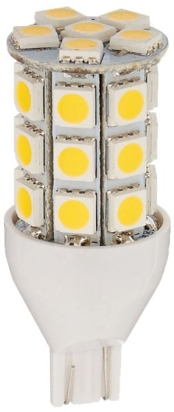 921 LED Bulb, 27 LED's, 250 Lumens, Warm White, 6 Pack, 25011V