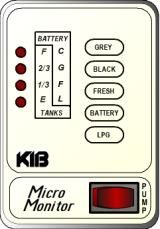 KIB Electronics Monitor Panel Model M22VW And M22VB Repair / Installation Kits