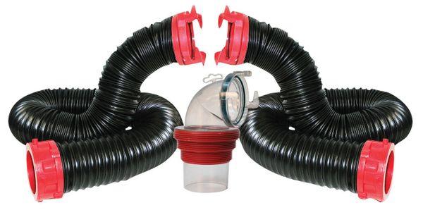 Valterra Dominator Sewer Hose Kit, 20′, Boxed, D04-0275