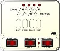 KIB Electronics Monitor Panel Model M23-2HWL Repair