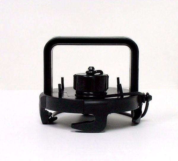 Valterra EZ Coupler Valve Cap, With Handle, Black, Carded, F02-3106BK