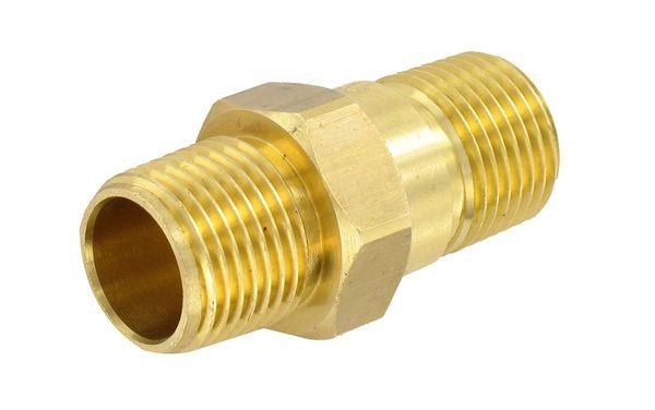 Valterra Check Valve, 1/2″, Brass, MPT x MPT, LF, Bulk, P23415LF
