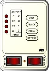 KIB Electronics Monitor Panel Model M23VWL Repair / Installation Kits