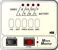 KIB Electronics Monitor Panel Model M24-1-3HWL Repair / Installation Kits