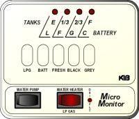 KIB Electronics Monitor Panel Model M24-1-3HWL Repair / Installation Kits