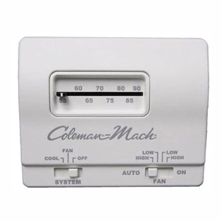 Coleman Thermostat, Analog, Cool Only 7330F3361